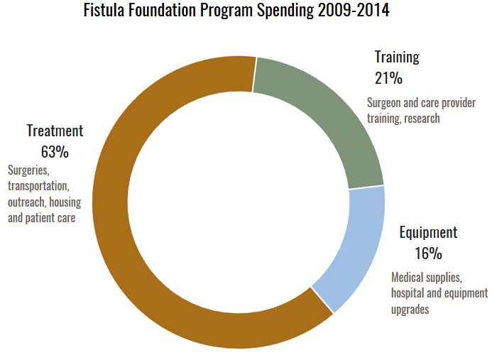 Fistula Foundation Program Spending